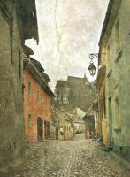Pieces of  Sighisoara by IoaSan