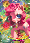 MLP FIM: Pinkie Pie Meets the Universe by hinoraito