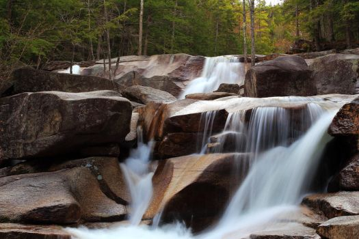 Waterfalls in the Forest by Celem