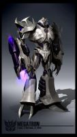 Megatron render  AB v5 by AugustoBarranco