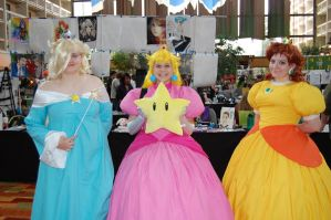 Mario Princesses by CharrsKliathe