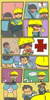 GO! GO! Medic! 2 by TMGR-COMICS-THAI