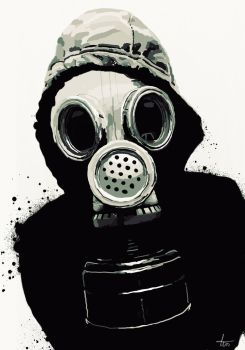 Mask of Gas by 40-thieves