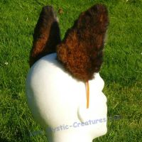 Fox ears for LARP or Cosplay by Mystic-Creatures