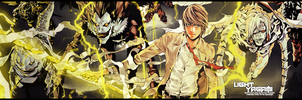 Light Yagami Banner by Exartia