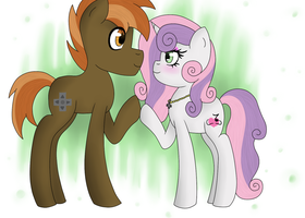 Sweetiemash (buttonbelle) by Shadowlight28