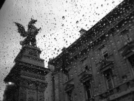 Rainy Day in London by JollyPirate