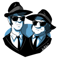 The Blues Brothers by JoeMcGro