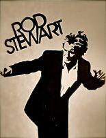 Rod Stewart by ash-sheridan