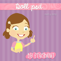 doll .psd by freshowl