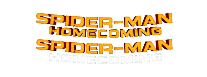 Spiderman Homecoming Logo (PNG) by AngelbfxD