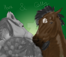 Breeding- cally and Hani by AngelitoCaz