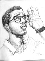 Kid Cudi by breegeek