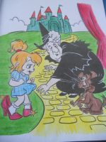 Dorothy, Toto, and the Wicked Witch of the West by Brittany-Psalm28-7