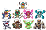 Cofagrigus Variations by rino563