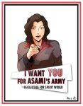 Asami Wants You by VeritoRojas