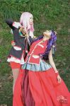 Utena and Anthy - Sword of Dios by Kenoma