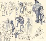 Sketches may9 by Wynturtle