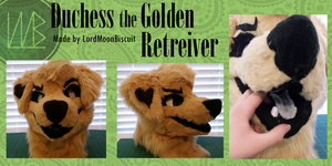 Duchess the Golden Retriever (commission) by LordMoonBiscuit