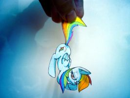 Little Real Rainbow Dash by slaugthervk