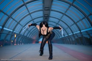 Laura Kinney - X-23 Fight me if you can! by AlexysCosplay