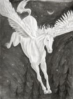 Winged Horse by Shells124
