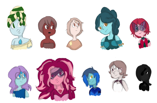 Gem busts: batch 1 by napstahappenings