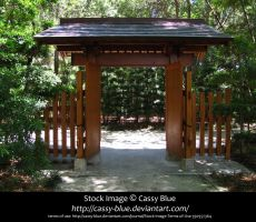Japanese Archway Stock by Cassy-Blue