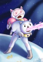 Bee and Puppycat by LaurenMagpie