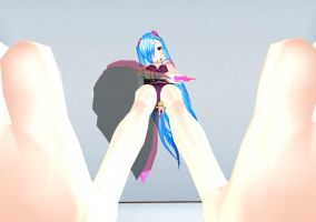 Giantess MMD - Massive discovery by JohnCarper
