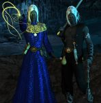 Honglath and Veldrin :: Drow Twins II by DrowElfMorwen
