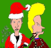 Dear Santa Butthead by UtterPsychosis