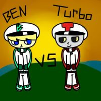 Ben VS Turbo by Ask-Racer-Ben