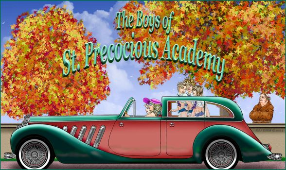 The Boys of St. Precocious Academy - Fall-2014 by KJandDDM