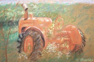 The old Allis Chalmers by LIGHTIMPRESSIONS