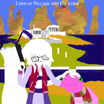 Dani and Susie in the Land of Pillars and Creation by DanielaLaverne