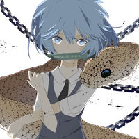 The killer in our midst - Nagisa Shiota by FishMadeofJelly