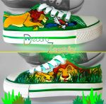 The Lion King shoes by Raw-J