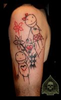 child tattoo by pande-lee