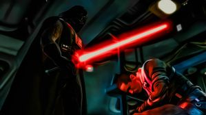 Darth Vader And Starkiller by Erew0n