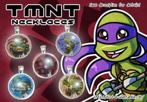 TMNT Pendant Necklaces FOR SALE by TCStarwind