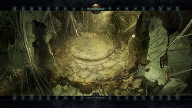 Locations II #28: Lair of the Spider Queen by Holyknight3000