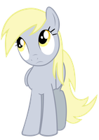 Derpy confused svg by BaumkuchenPony