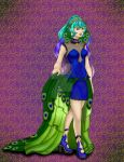 [AI] Swan and Peacock - Peacock {Royalle} OC FIN by DarkNekoPrincess