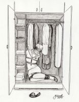 sailor woman in the closet by jstreel