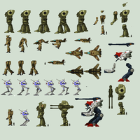 Robotech sprite sheet 2 by Angel-Gabe