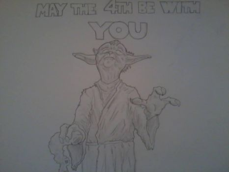 May the 4th be with you by onejon