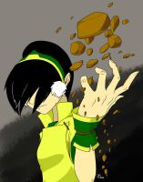 Toph colored by danielsingzon