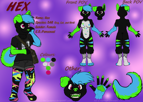 :CO: Hex Reference 2013 by SnookumsGal