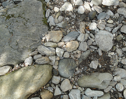 old stock - river rocks 006 by brookeasaurr